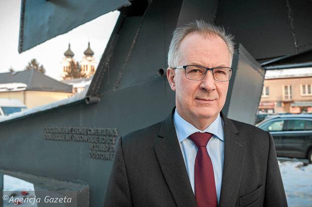 Gratulacje dla burmistrza Biłgoraja