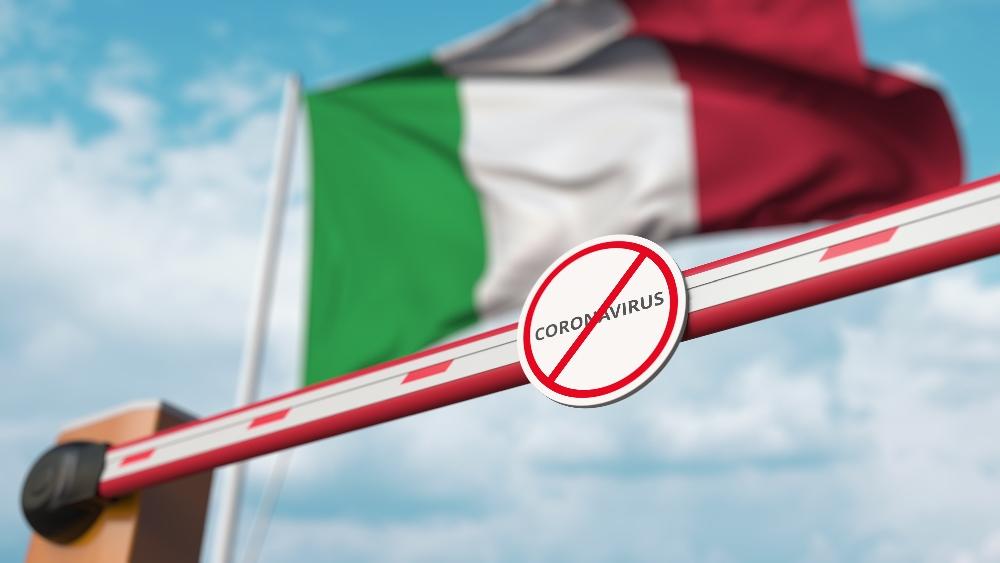Płaczę po śmierci Italii