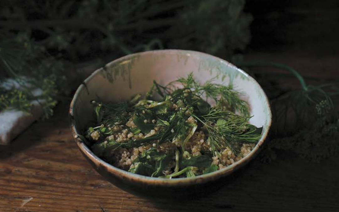 Kasza jaglana, biała fasola i curry